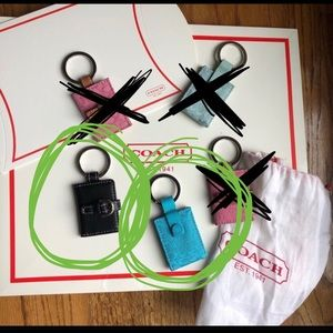 2 LEFT - Coach keychains! 🎁 Gift idea alert 🚨